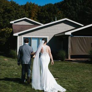 Martina Liana Style 873 Wedding Dress Size 14